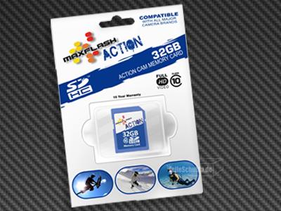 MaxFlash SDHC 32GB SD Karte günstig kaufen