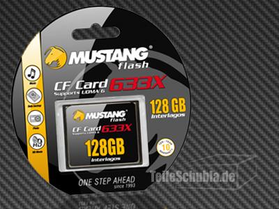 teileschubla.de, Mustang Compact Flash 128GB CF Karte günstig kaufen